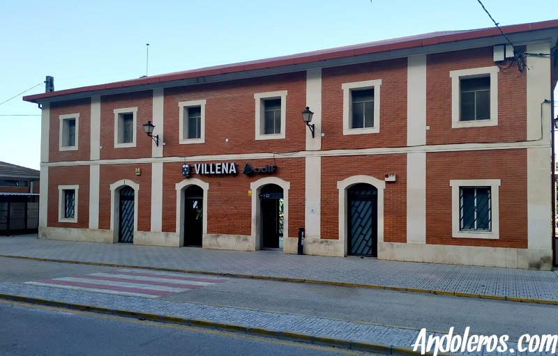Estación RENFE Villena