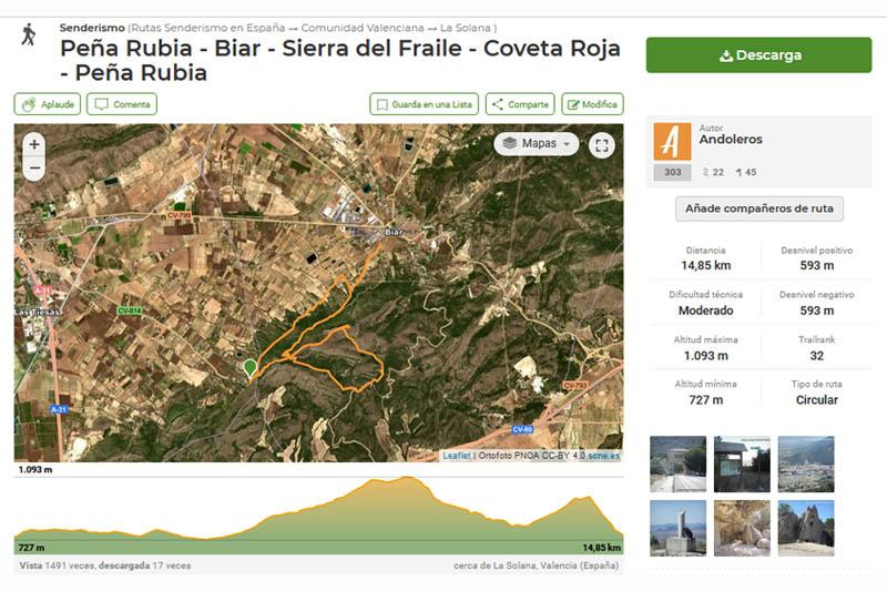 El track de la ruta en Wikiloc (clic en la imagen para descargar)