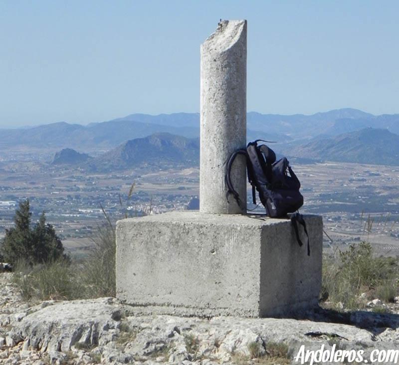 Vértice Geodésico de la Sierra del Fraile, Biar