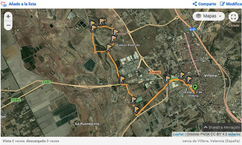 Hornos de Yeso - ruta en Wikiloc