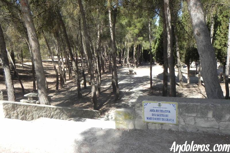 Zona recreativa del Santuario de Biar