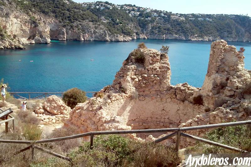 Castillo de la Cala Granadella