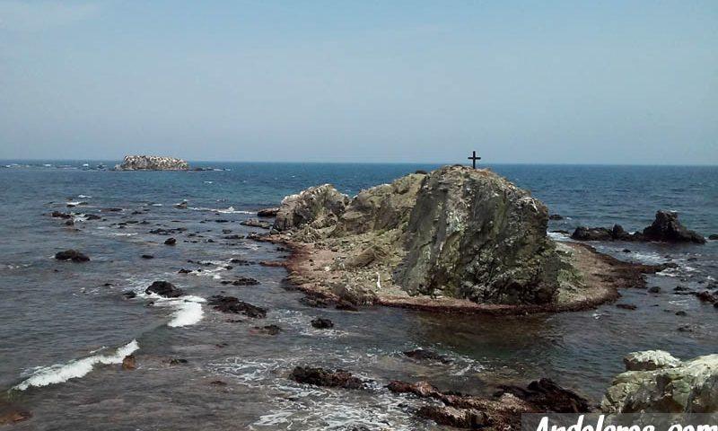 Isla de Tabarca: Illot de la Nau desde Punta Falcón